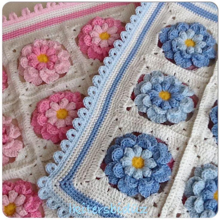 #iyiakşamlar #iyigeceler #ankara #blue #mavi #pink #pembe #crochet #crocheted #crocheting #crochetlove #crochetaddict #crochetflowers #flowers #tığ #tığişi #tığaşkı #wool #yün #yastık #kırlent #pillow #elişi #hobi #hayırlı #handwork #sabır #sevgi #sipariş #siparişalınır by ikitersbiduz