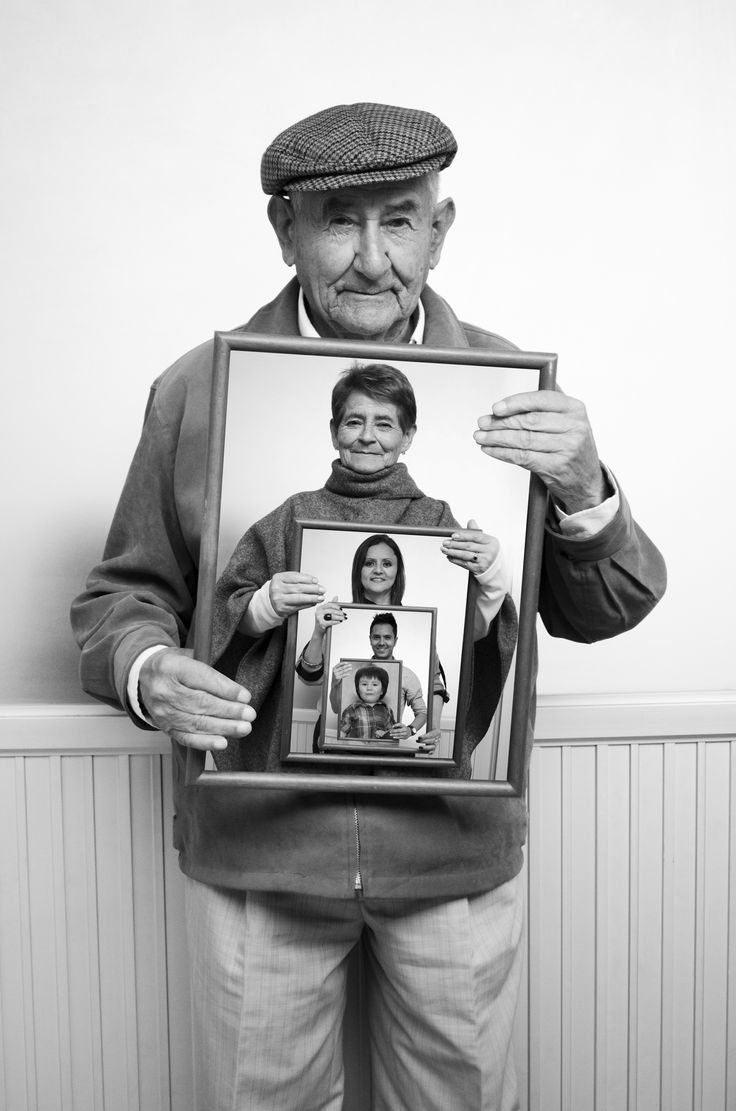 5 Generaciones una sola foto.