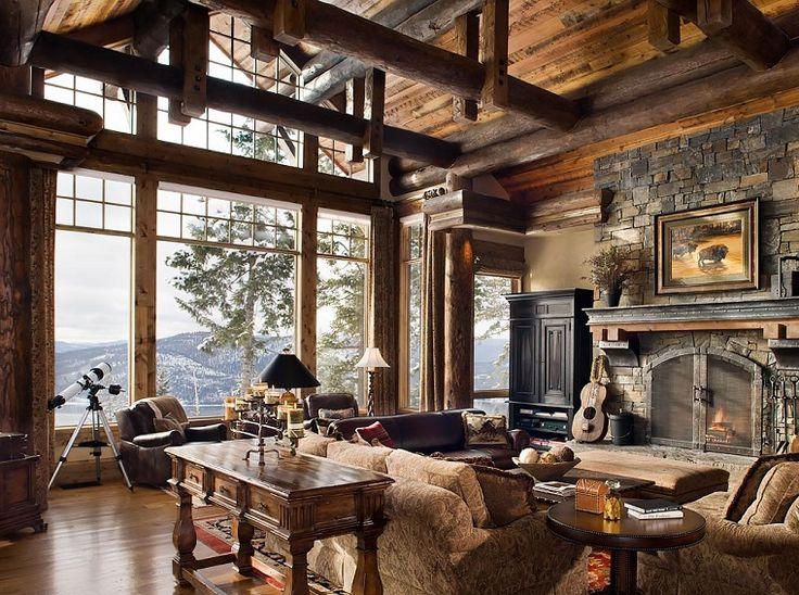 arredamenti-rustici-soggiorno-mobili-legno-grandi-finestre-camino-look-originale