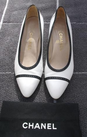 Ballerines Chanel - Occasion - Le vide-dressing de Solveig   Videdressing