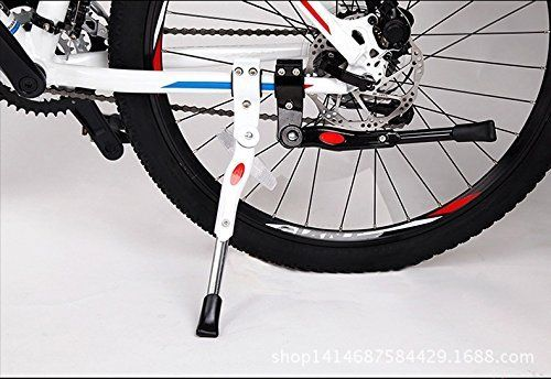 Amazon.com : Gugou Black Adjustable MTB Aluminium Alloy Bike Bicycle Black Side Kickstand Stand for MTB Road Mountain (White) : Sports & Outdoors