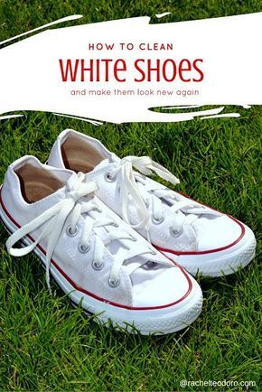how to clean converse shoes white