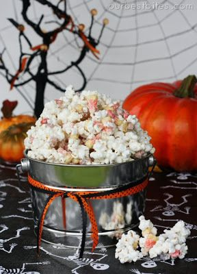 Monster Munch {Halloween Popcorn Mix} - Our Best Bites
