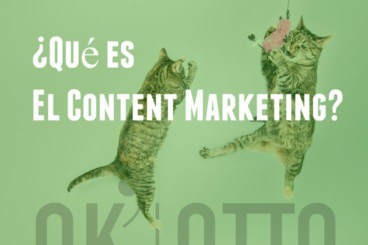 Personalmente me gusta el término Content Marketing, dentro de este salvaje mundo de webs, que se esta convirtiendo en la mejor herramienta de Marketing Online para los vendedores Online. www.ok-otto.com
