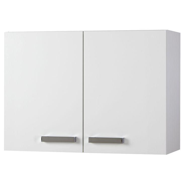 meuble de cuisine haut fixer portes blanc cm vertigo les meubles de cuisine with ilot central. Black Bedroom Furniture Sets. Home Design Ideas