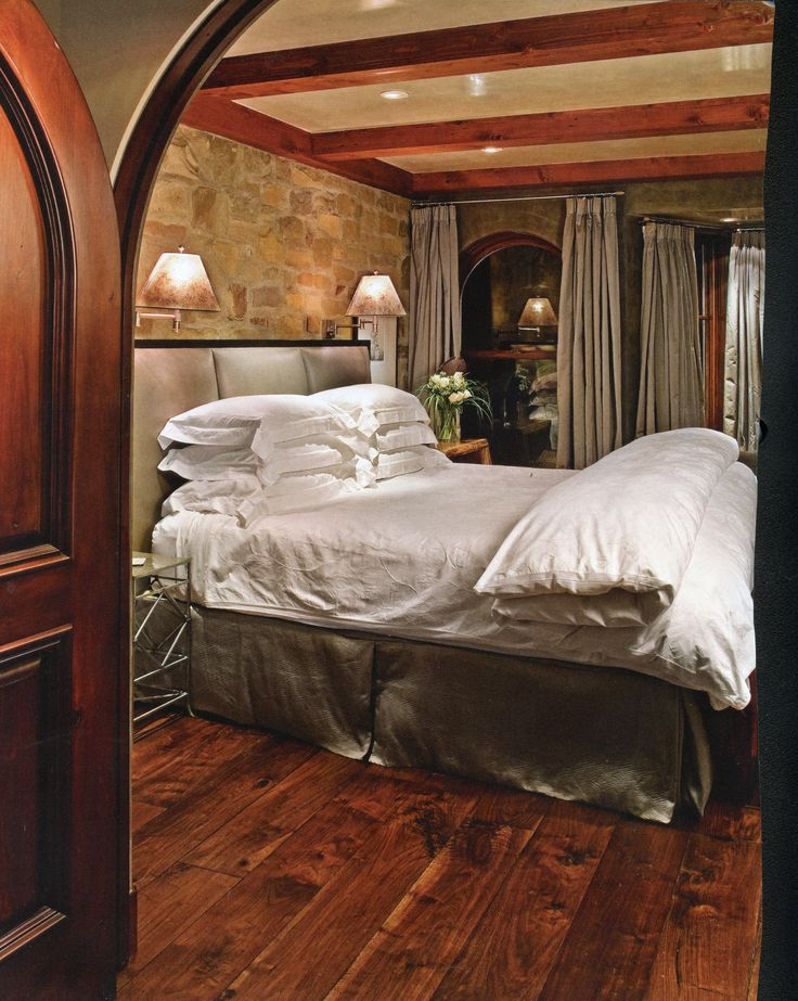 dream master bedroom%0A The master bedroom u    love the arched doorway  u     plank floors