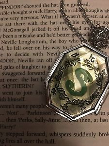 Harry Potter Inspired Slytherin Locket Horcrux Necklace Ron Hermione Cosplay Uk | eBay