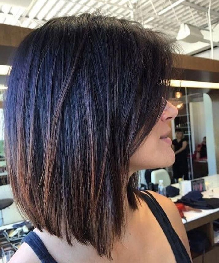 Bob Hairstyles Medium Bob Haircut Bob Haircut 2019 Short Bob Haircut Bob Haircut With Lay Bob Hairstyles For Thick Thick Hair Styles Haircut For Thick Hair
