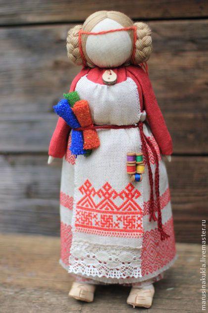 "Кукла ""Макошь"" - оберег,славянский оберег,макошь,народная кукла,народная традиция"