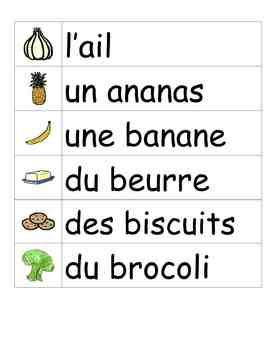This file contains 7 different word walls for a total of 183 words all illustrated, to help students acquire more French vocabulary. All words are listed with articles so that students can easily understand whether to use feminine, masculine or plural agreements when using these new words in sentences.