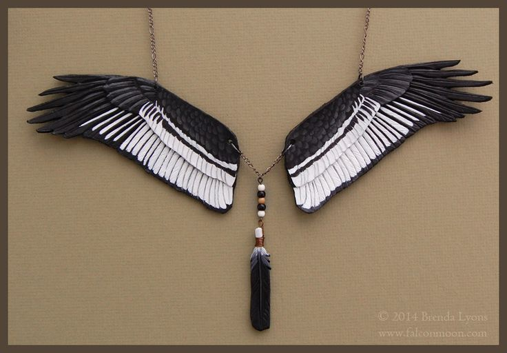 Andean Condor – Leather Wing Necklace by Brenda Lyons Would you like to see your nature-inspired photography and other artwork here on Wordless Wednesday? Contact us at pathsthroughtheforests[at]gmail[dot]com with a photo and link of the piece you'd like us to consider. http://www.patheos.com/blogs/pathsthroughtheforests/2014/07/09/wordless-wednesday-andean-condor/