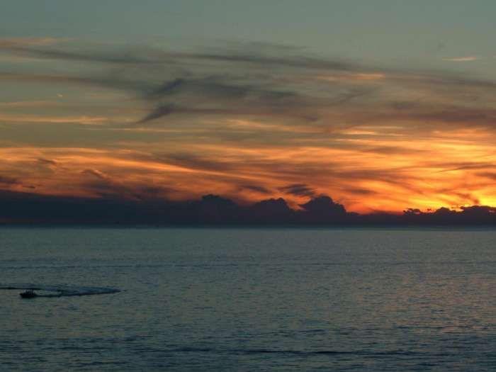 Rovinj—sunset at sea