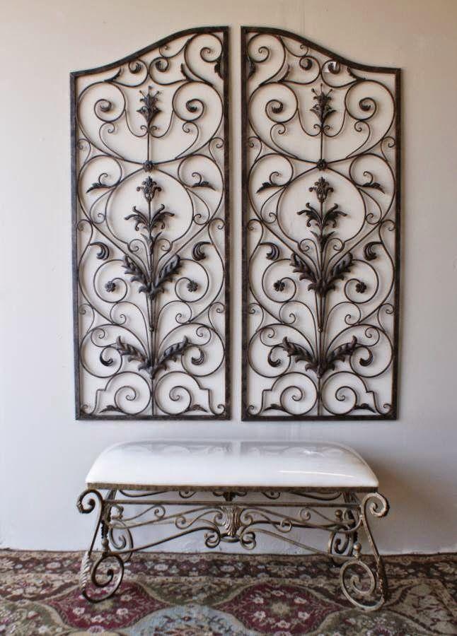 Metal Wall Decor Cheap stunning wrought iron wall decor cheap images - home decorating