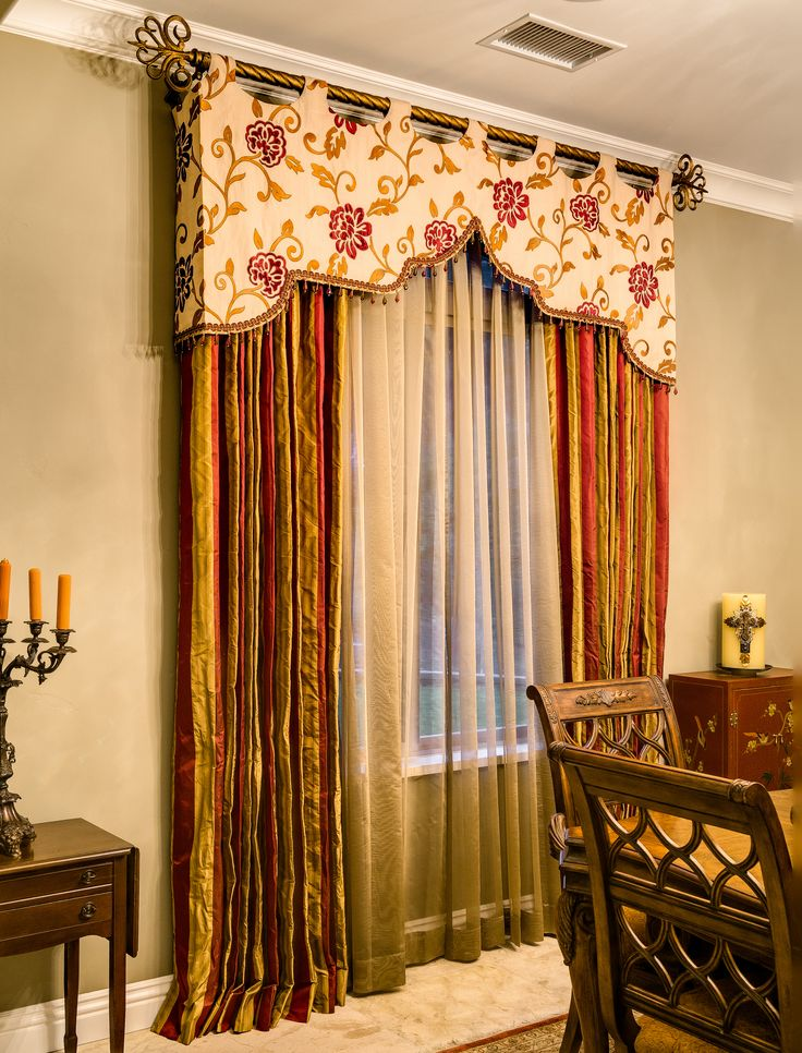 1000 images about home decor window treatment bed crown for Cortinas originales