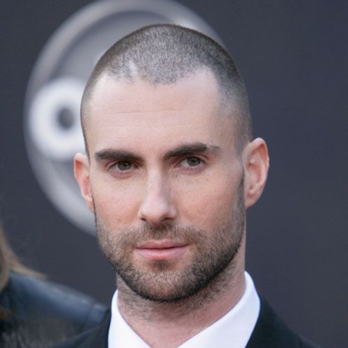 Adam Levine Shaved Head: