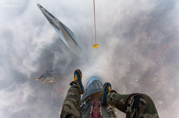 """Шанхайская башня. Виталий Раскалов. Выставка """"На высоте"""" в музее Эрарта. #art #photo. http://shop.erarta.com/ru/shop/catalogue/photoart/detail/2721024e-ef68-11e5-b44a-8920284aa333/"""