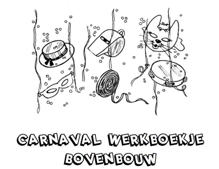 Werkboekje Carnaval Bovenbouw  ALLE THEMA WERKBOEKJES GROEP 8!!!!!!!!!!!