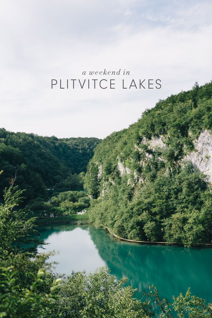 Travel Guide to Plitviče Lakes National Park - the largest National Park in Croatia and one of the most beautiful places in all of Europe!