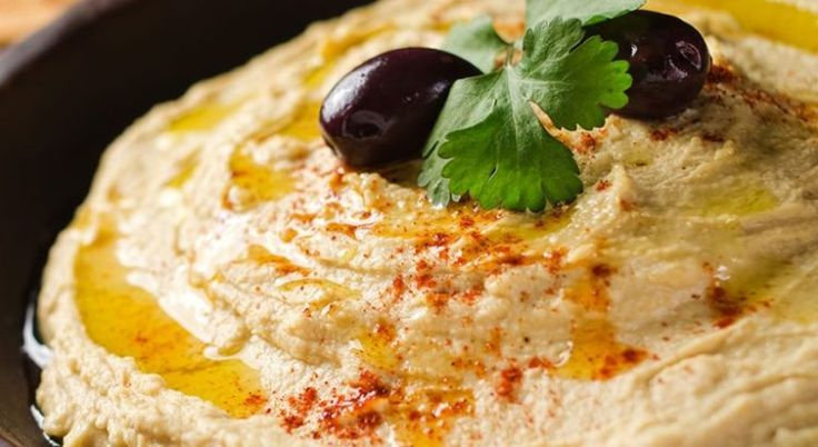 Hummus is high in protein, making them a perfect addition to a vegetarian's diet or one who would like to cut back on red meat.