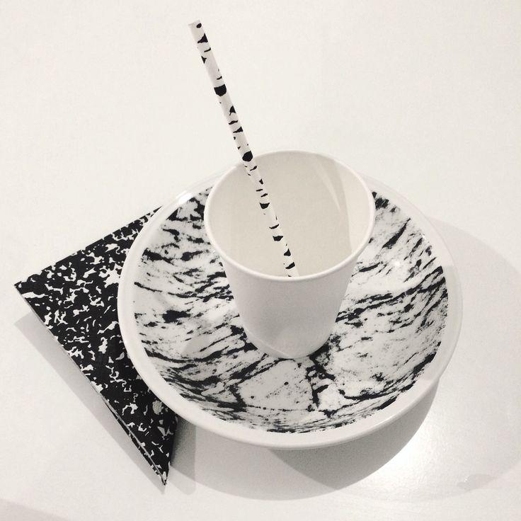 Black and white set #noise #marble #daily #set #thefour #budapest #lifestyle