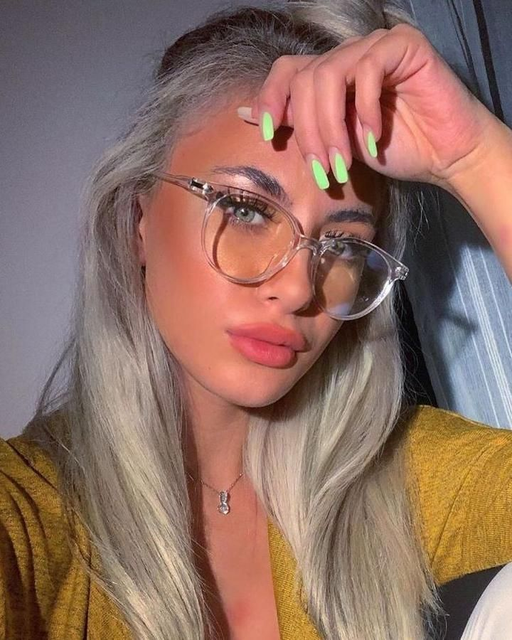 2020 Women Glasses Light Up Glasses Glasses Without Prescription Frame Without Lens Frame Glasses Lens Light Prescription Without Women In 2020