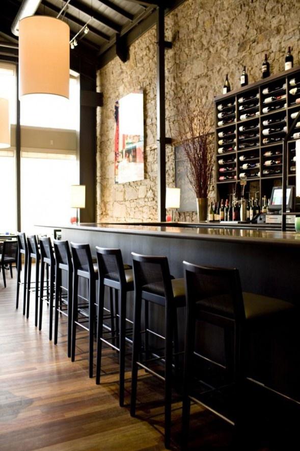 Rustic & Chic bar. Great idea for a cellar