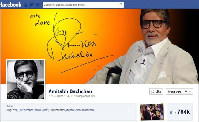 AMITABH BACHCHAN JOINS FACEBOOK,8 LAKHS FOLLOWERS AND COUNTING…