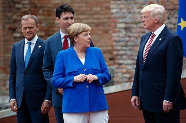 Trump en busca de pleito con Alemania