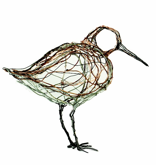 celia smith wire bird sculpture http://celia-smith.co.uk/