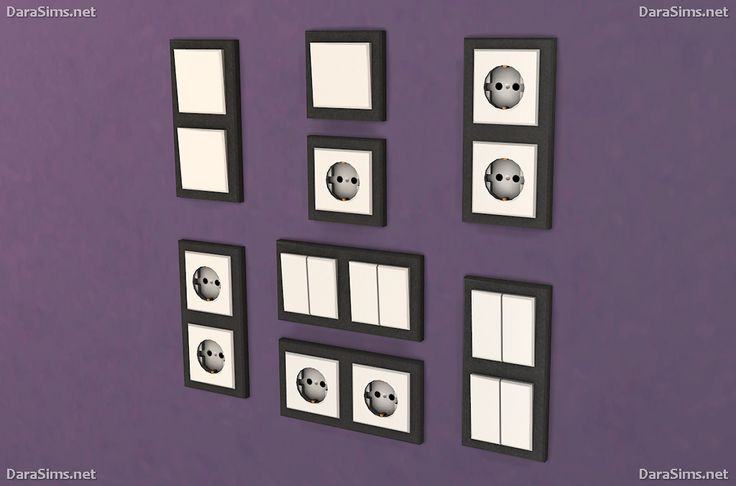 darasims: Switches and sockets [The Sims 4]