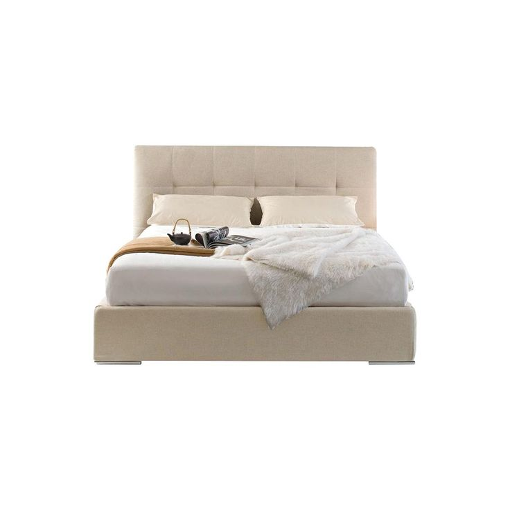 Swami Upholstered Queen Bed with Storage Unit