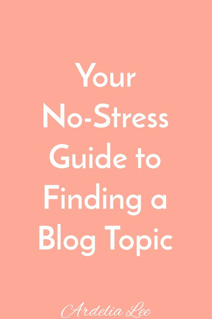 Need help finding a niche and topic for your blog? It's one of the most important things you can do. A niche gives your blog direction and focus, and it helps you define your ideal audience. However, choosing a niche can be stressful, confusing, and scary. Check out this guide and the post that goes with it to learn how you can simplify the process of choosing your niche and topic.