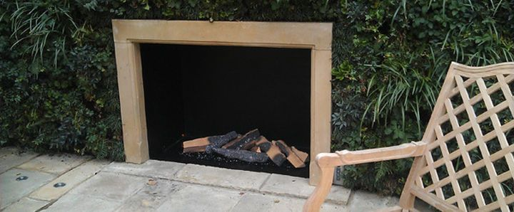 We can provide traditional outdoor fireplaces as well as contemporary.