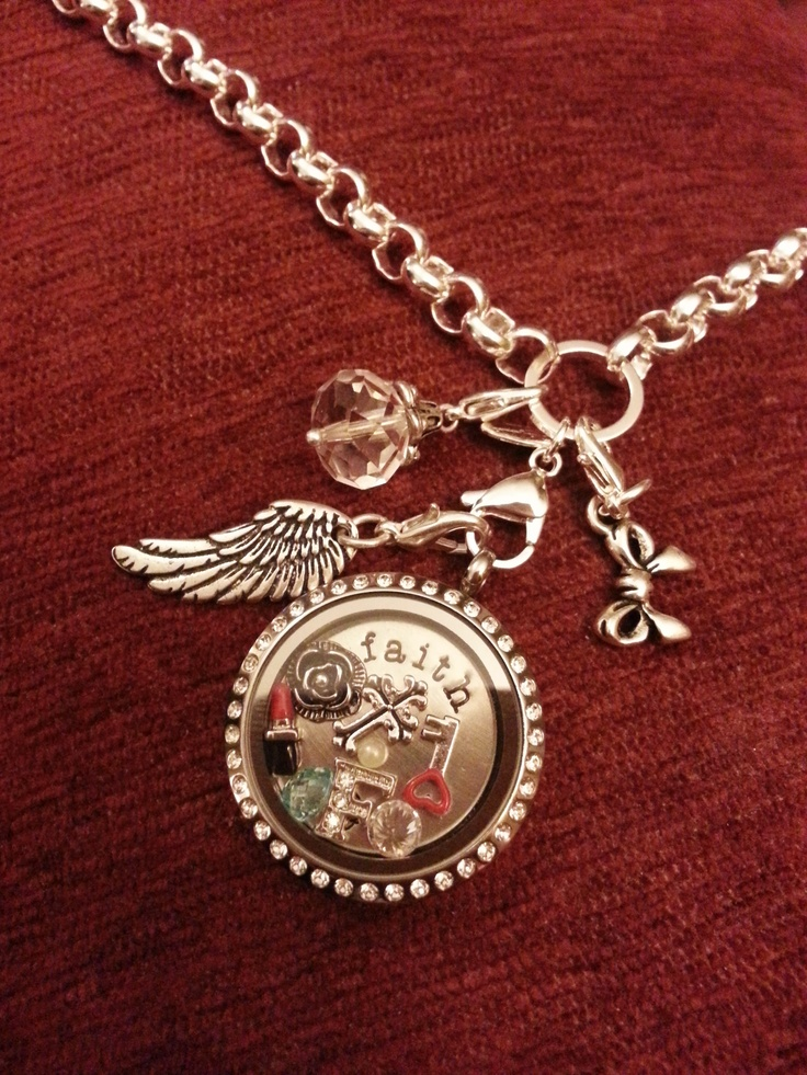 My Origami Owl necklace! I love it!
