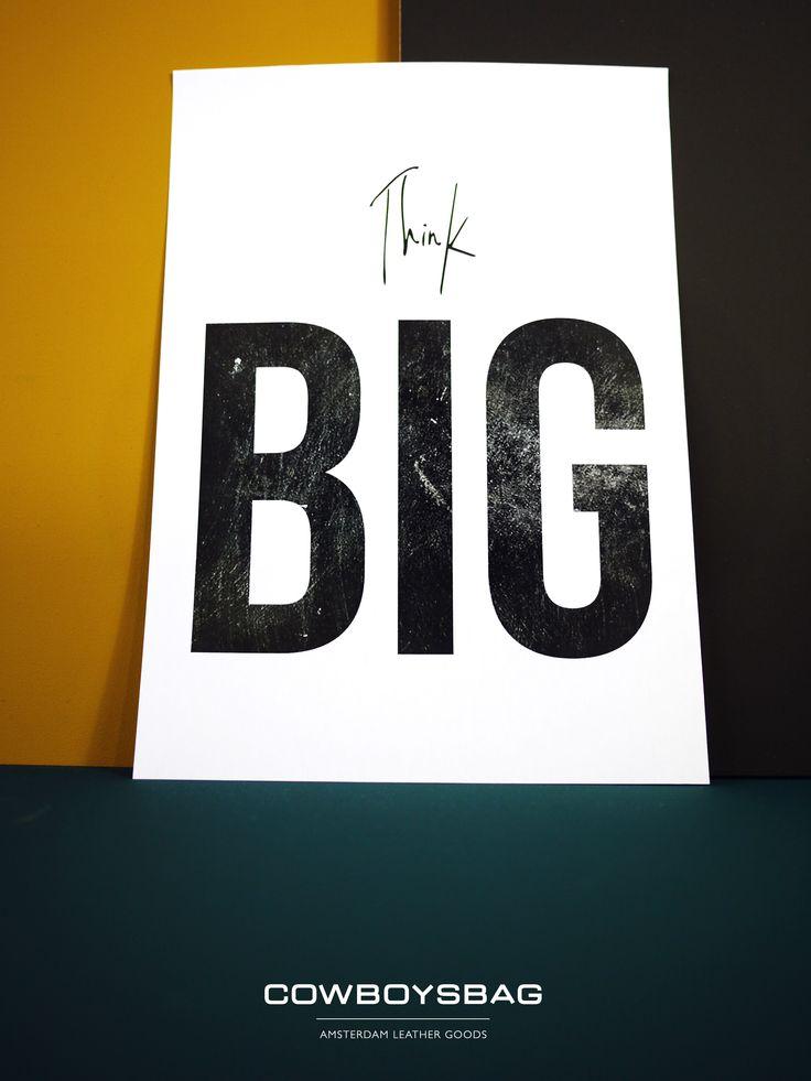 Think BIG | Cowboysbag