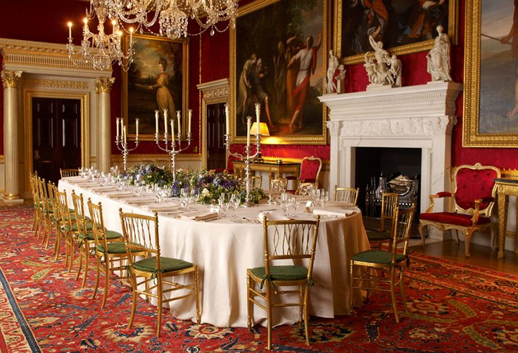 The Great Room is the largest and most impressive of the state rooms at Spencer House in London. It was originally intended as a setting for receptions and balls.