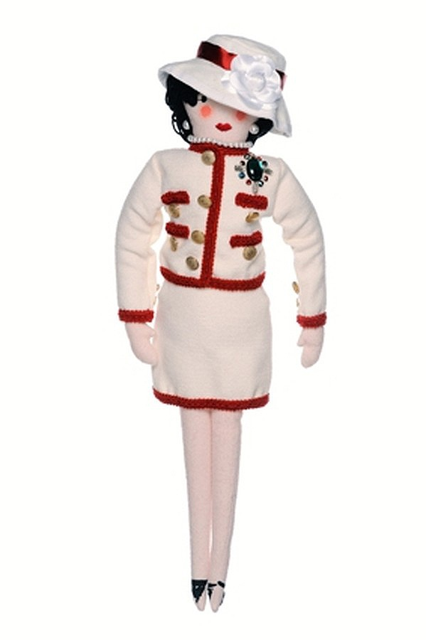 CHANEL doll for UNICEF's Frimousses Designers for Darfur. Designers for Darfur. #CHANEL