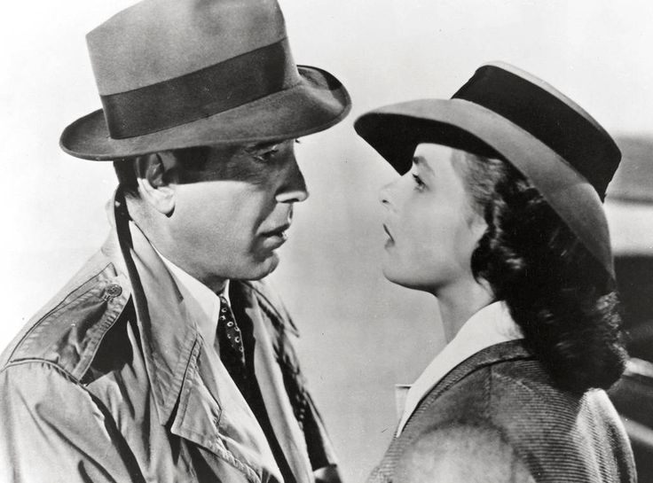 Rick Blaine and Ilsa Lund, Casablanca from The 59 Best Movie Couples of All Time  This 1942 film starring Humphrey Bogart and Ingrid Bergmanwon the Best Picture Oscar and is one of the most iconic romantic dramas in Hollywood history.