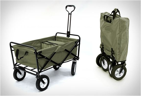 Folding Utility Wagon...a must for tailgating, hauling coolers to the beach and moving kids into dorms! Couldn't live w/out ours!