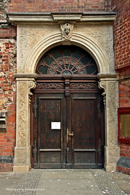door in Wrocław / Poland