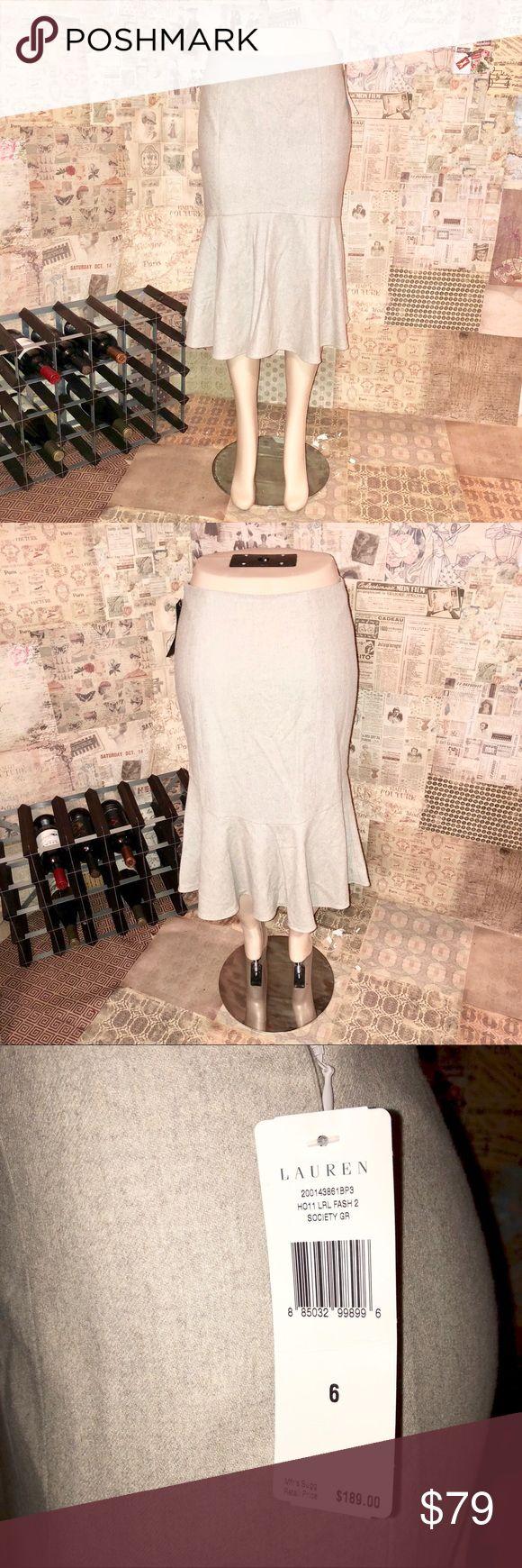 Lauren by Ralph Lauren Tulip Midi Skirt It's brand new with tags.  Very nice fabric :)  Size: 6. Lauren Ralph Lauren Skirts Midi