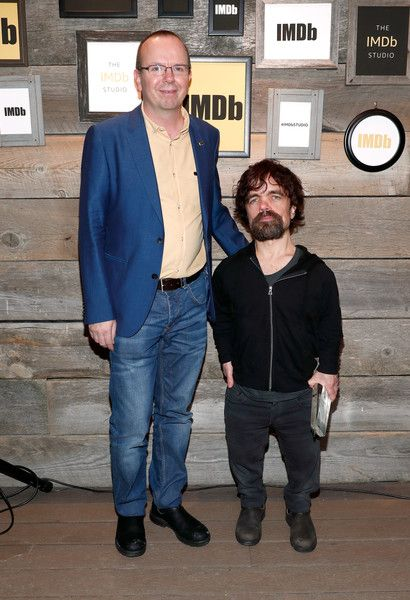 Peter Dinklage Photos Photos - IMDb Founder & CEO Col Needham and actor Peter Dinklage, recipient of the STARmeter Award, attend The IMDb STARmeter Award Ceremony & The Amazon Video Direct Inaugural Filmmaker Awards during the 2017 Sundance Film Festival on January 23, 2017 in Park City, Utah. - The IMDb STARmeter Award Ceremony & The Amazon Video Direct Inaugural Filmmaker Awards - 2017 Sundance Film Festival In Park City - 2017 Park City