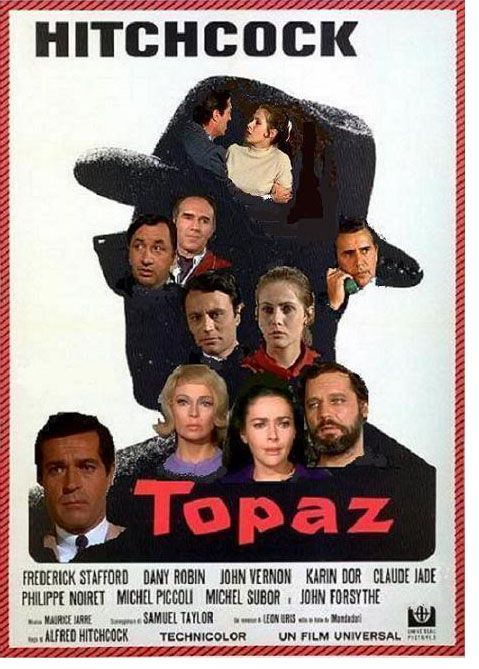 Topaz Movie | Alfred Hitchcock, Topaz (1969) | Film, Movie, Criticism, Review by ...