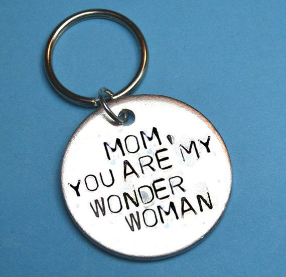 Mothers day gift, Mom wonder woman, Personalised Mothers day gifts, UK, Mom gift, Mother keychain, gift for mother, gift ideas for mother