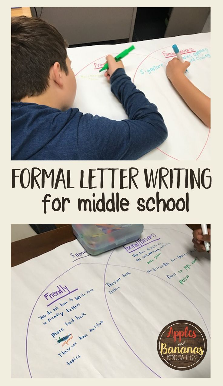 Formal letter writing class activities and supporting