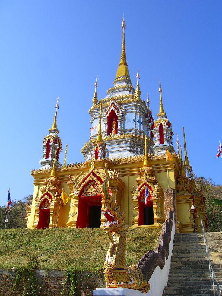 Temple Near Doi Inthanon National Park