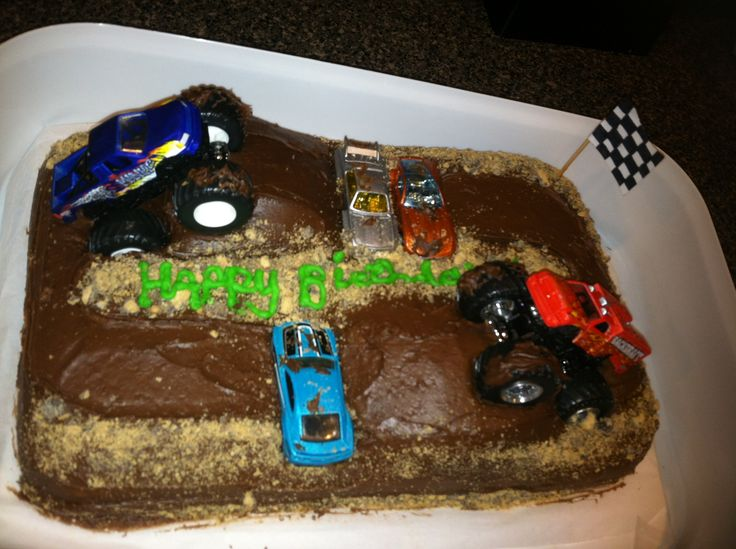 Monster Truck Images Cakes