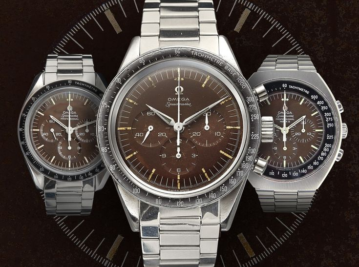 "Speedmaster 'Tropical' Brown Dial Vintage Watch Explained - see what it is all about & get deeper into Omega - on aBlogtoWatch.com ""From roughly 1957 to 1965, a flaw in the manufacturing process of black dials used on the Omega Speedmaster Professional line of watches resulted in the occasional fading of the dial to a shade of brown, sometimes described as 'tropical brown' or 'chocolate.' Long sought after by collectors, anyone who has looked into purchasing a used Omega Speedmaster…"