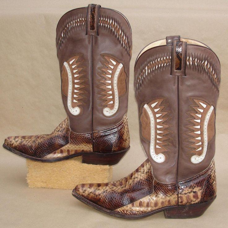 Exotische Sancho Cowboystiefel Westernstiefel Cowboyboots ...