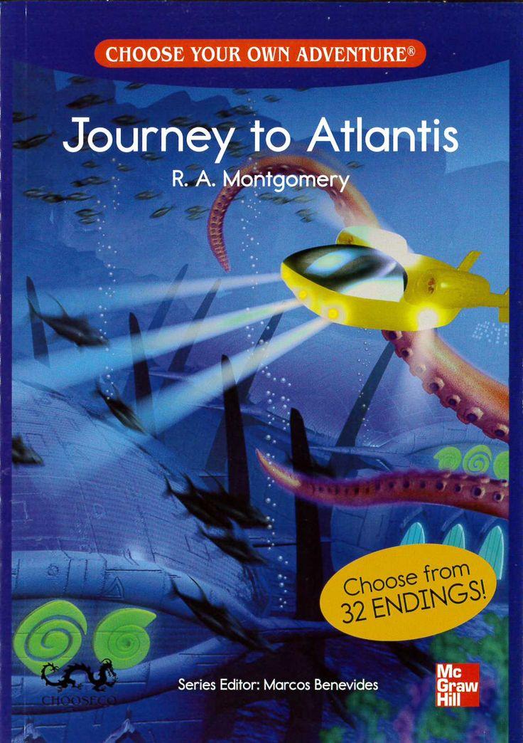 Journey to Atlantis ~ Choose Your Own Adventure